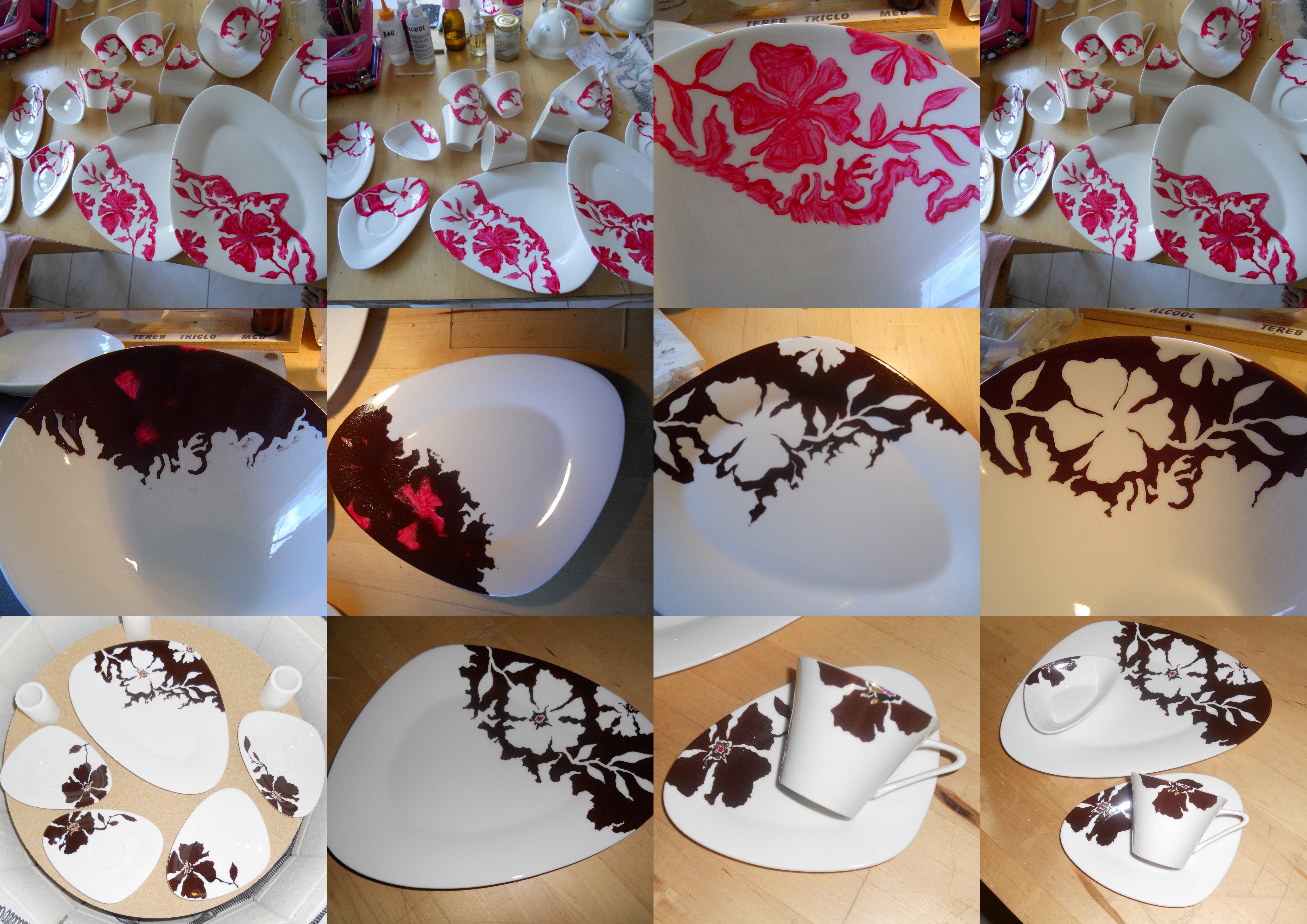 celialice atelier peinture sur porcelaine solli s toucas peinture sur porcelaine. Black Bedroom Furniture Sets. Home Design Ideas